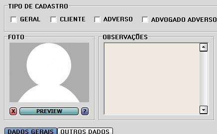 Cadastro com Foto/Logo